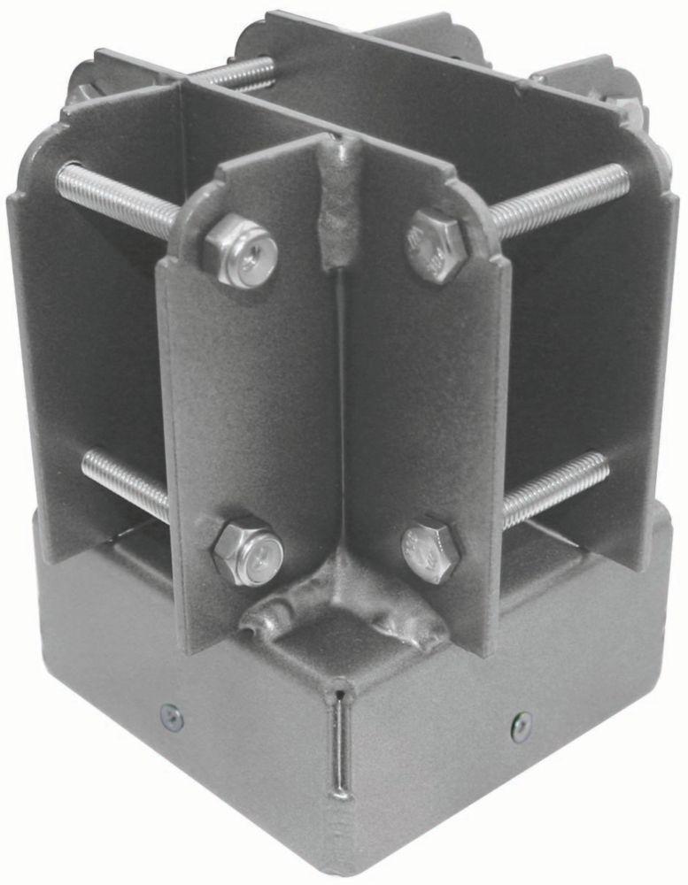 "Yardistry 4""x4"" Post Top Connector"