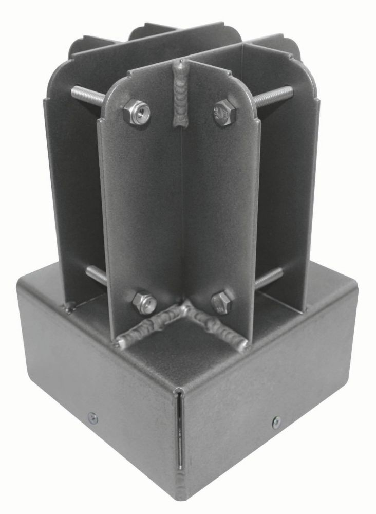 "Yardistry 6""x6"" Post Top Connector"