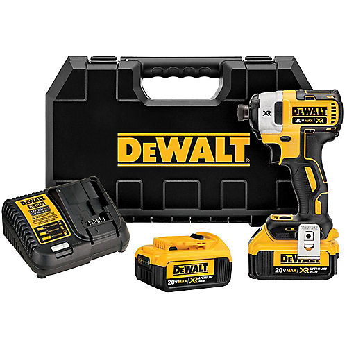DEWALT 20-Volt MAX XR Lithium-Ion Cordless Brushless Hammerdrill ...