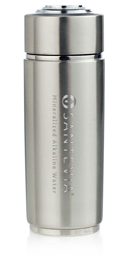 Silver Alkaline Energy Flask