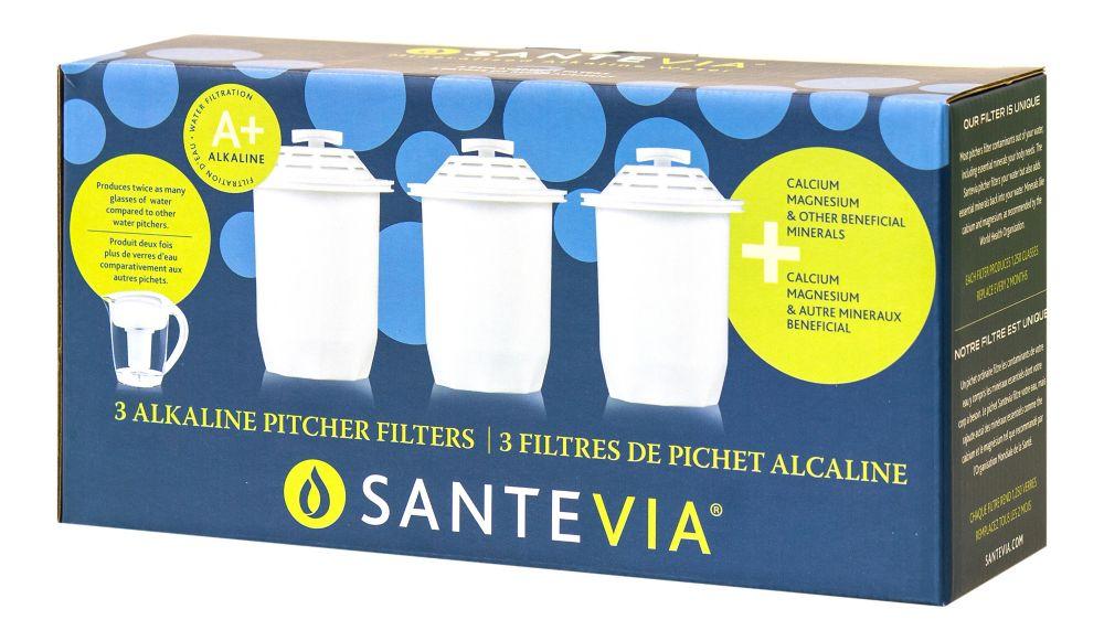 Filtre du Pichet d'eau Alcaline - paquet de 3