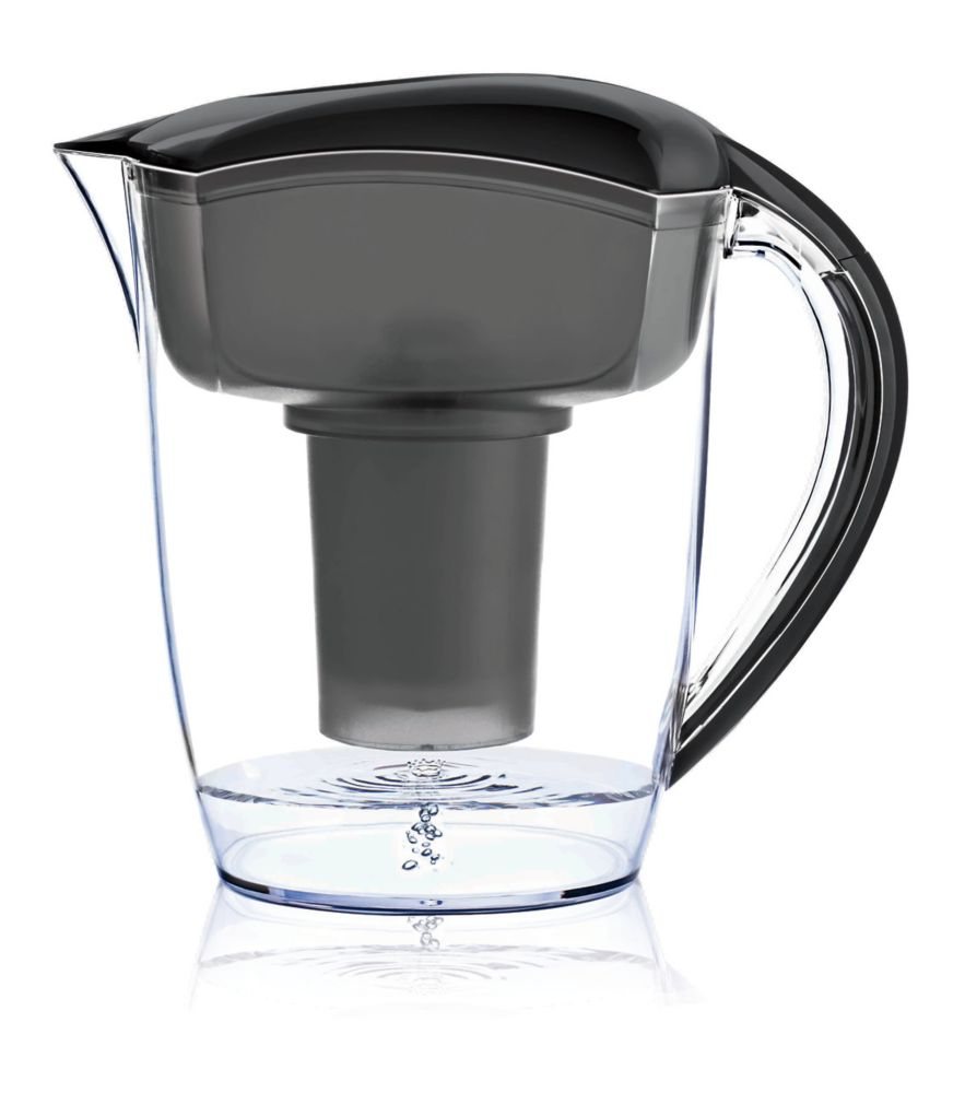 Pichet d'eau Alcaline Noir