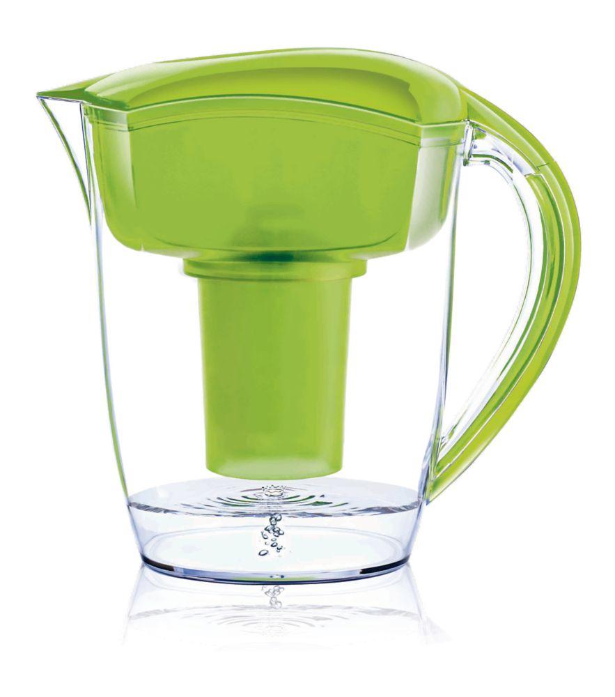 Pichet d'eau Alcaline Vert