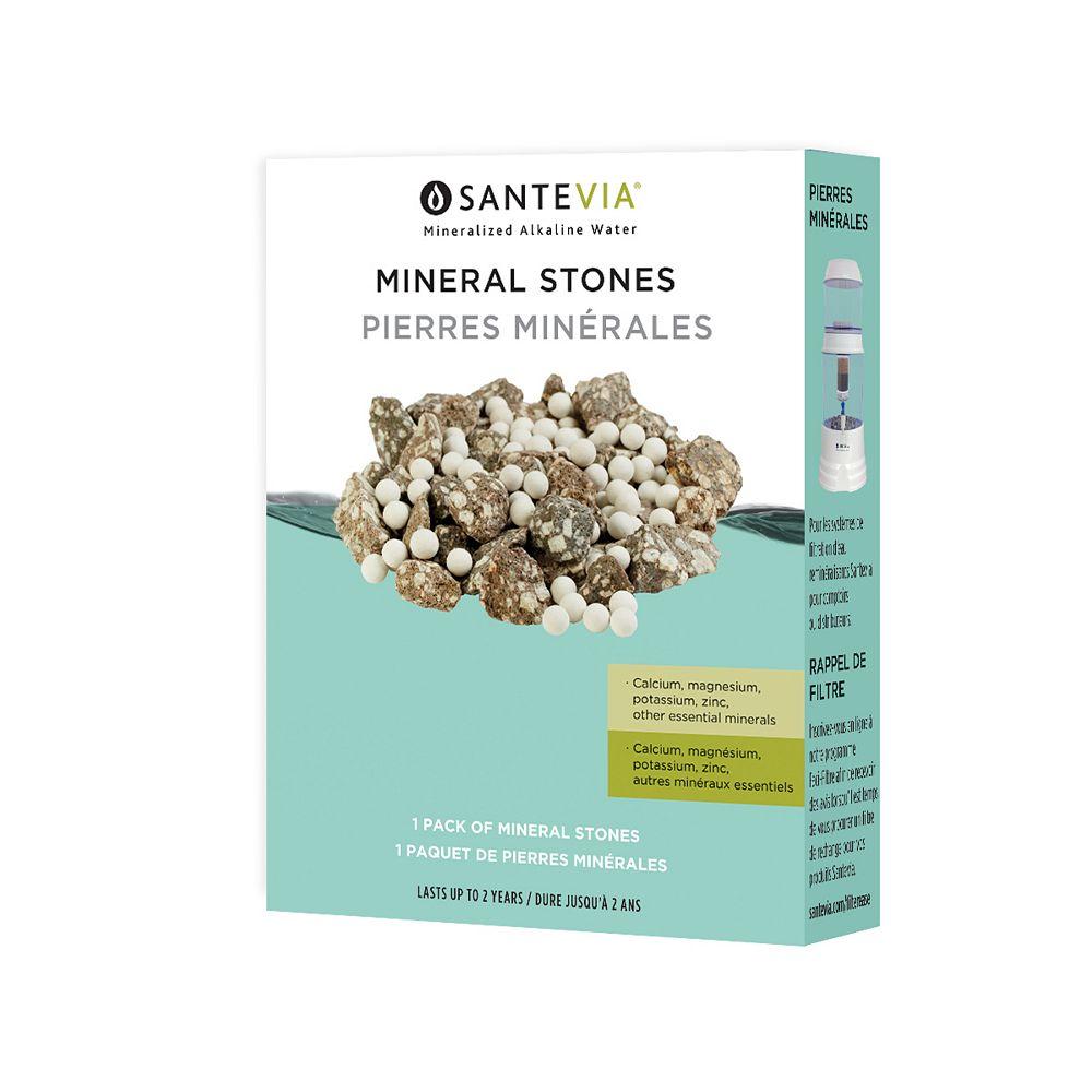 Santevia Pierres minérales