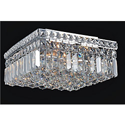 CWI Lighting 12 Inches Square Flush Mount