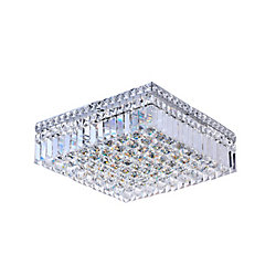 CWI Lighting 16 Inches Square Flush Mount