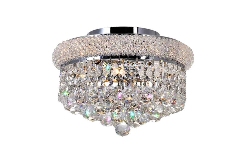 12 Inches Beaded Flush Mount
