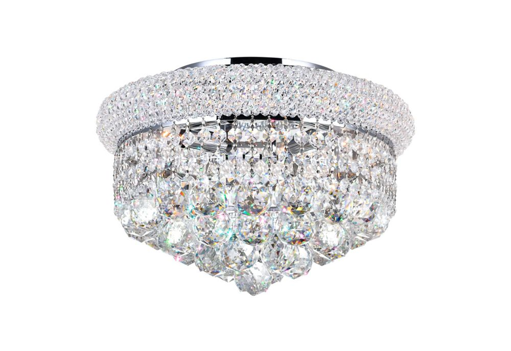 14 Inches Beaded Flush Mount