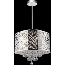 CWI Lighting Laser Cut 16 Inches Pendent