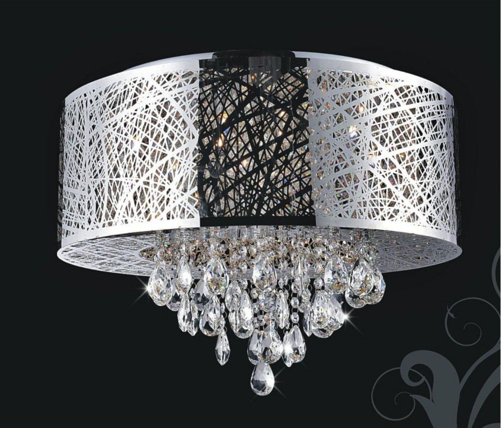CWI Lighting Laser Cut 22 Inches Flush Mount