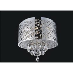 CWI Lighting Laser Cut 16 Inches Flush Mount
