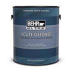 Interior Satin Enamel Paint & Primer In One - Medium Base,  3.54 L