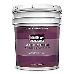 Behr Premium Plus Ultra Peinture & apprêt en un - Intérieur émail coquille d'oeuf - Base foncée, 3,43 L