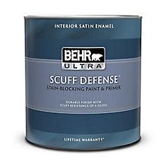 Interior Satin Enamel Paint & Primer In One - Medium Base, 887 ML