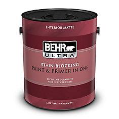 Ultra Pure Matte White Interior Paint & Primer, 3.79 L