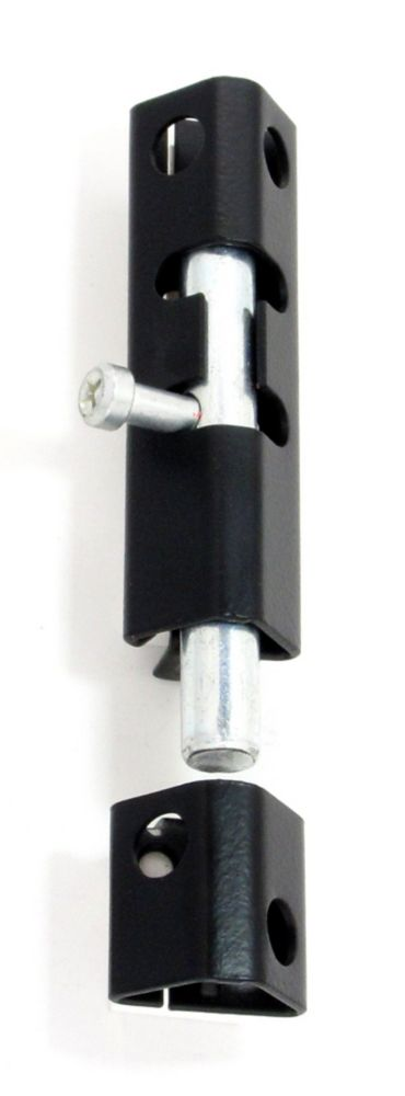 Security Bolt - 6 Inches - Black 2830052 Canada Discount
