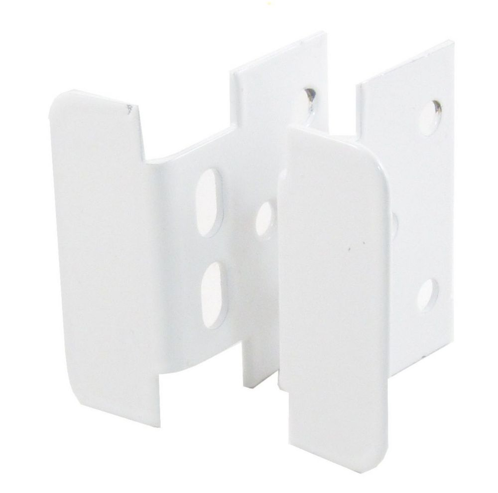 Locking Jamb Handle - White