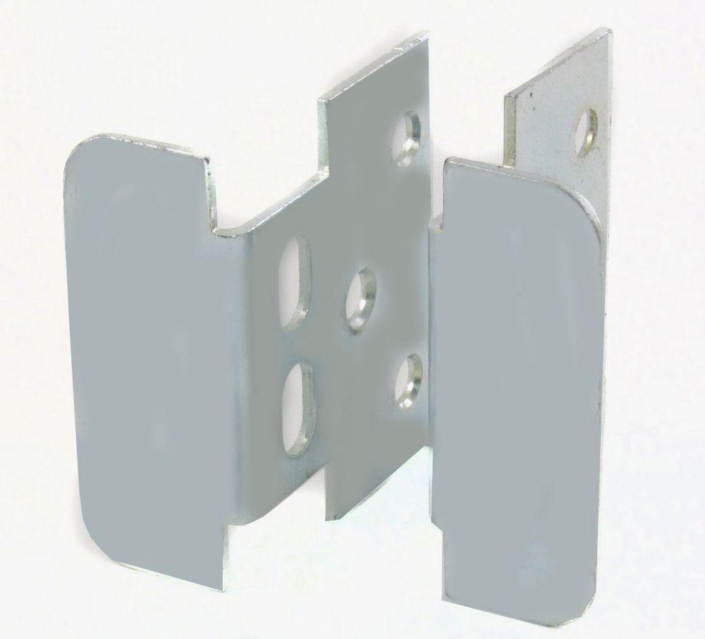 Locking Jamb Handle - Zinc
