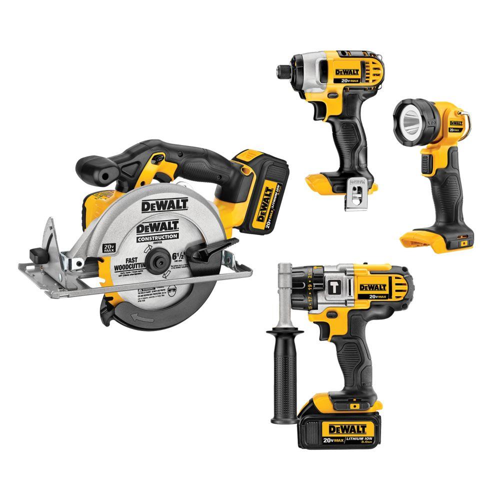 20V MAX Five Tool Combo Kit
