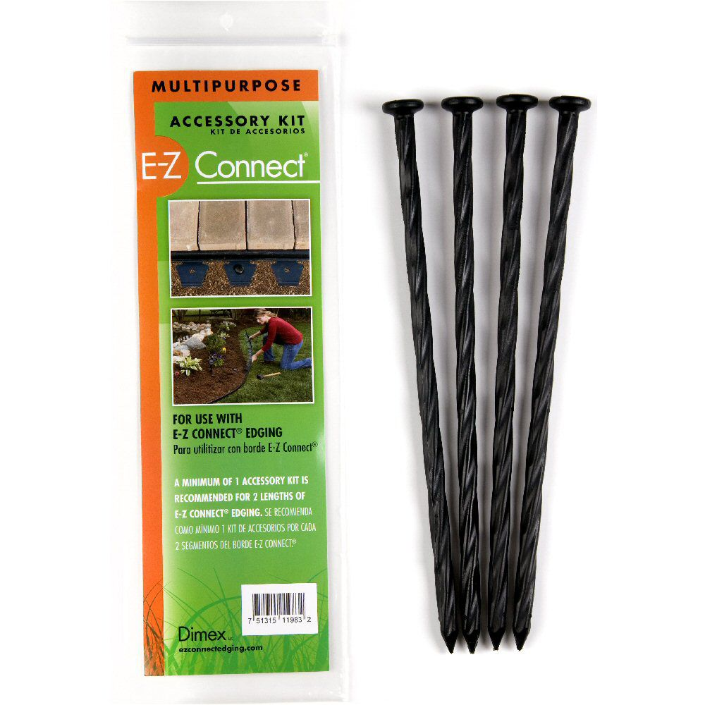 Multipurpose Accessory Spike Pack (4) 10 Inches Spiral Spikes / pack
