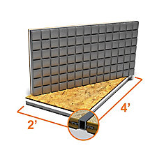 2 ft. x 4 ft. Insulated OSB Subfloor Panel