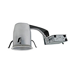 Halo 4 Inch  IC/Non IC Air-Tite Remodel LED Recessed Lighting Housing