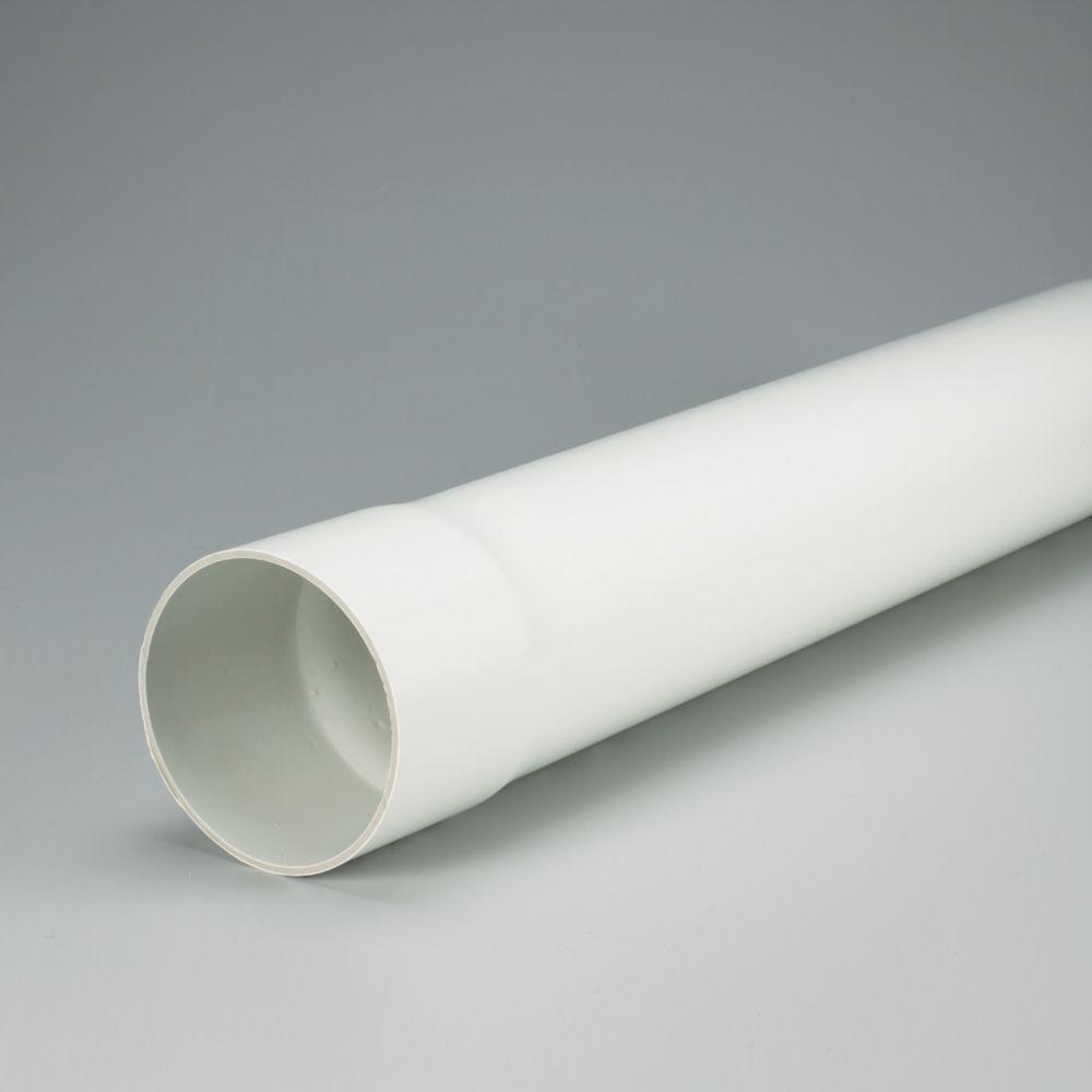 TUYAU D ftÉGOUT EN PVC SOLIDE 4 inches x 10 ft