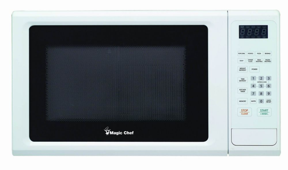Magic Chef 1 1 Cu Ft Countertop Microwave With 10 Power
