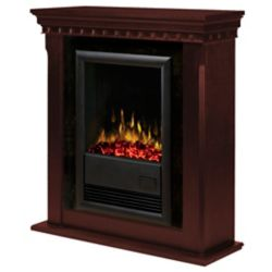 Dimplex Traditions, Nutmeg, Fireplace Kit Lava Stone