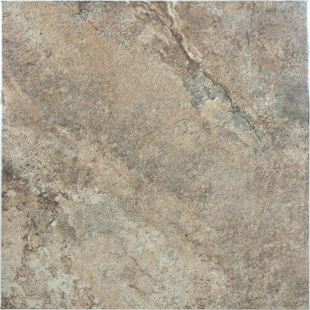Enigma etrusca villa porcelain tile 13 inches x 13 for Ceramic flooring