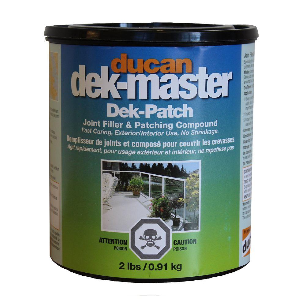 Le remplisseur Dek-Patch est utilisé pour la preparation et le remplissage de la surface du contr...