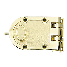 Polished Brass Jimmy Proof Deadbolt