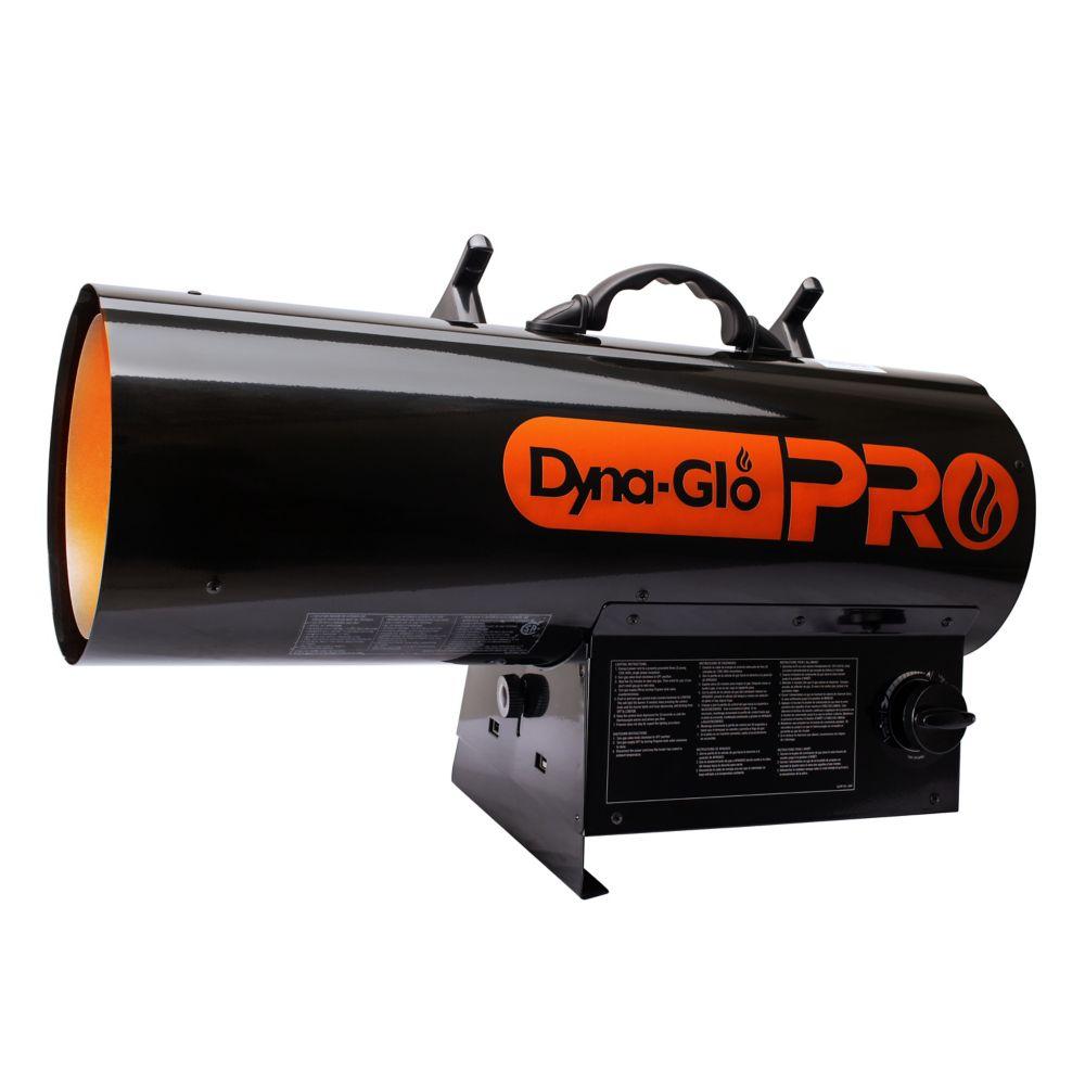 Radiateur à air pulsé au PL de 125K BTU Dyna-Glo Pro LPFA125H-01