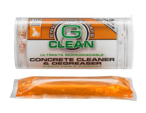 Green Earth G-Clean Concrete Degreaser Pouches