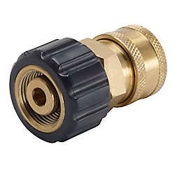 3/8 in. Female Quick-Connect x M22 Connector for Pressure Washer