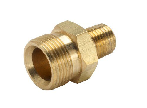 Male National Pipe Thread x Male M22 4000 PSI - 3/8 Inches