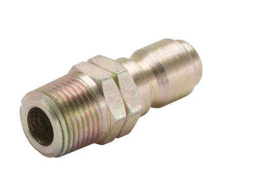 Male Quick Connect x Male National Pipe Thread 4000 PSI - 3/8 Inches