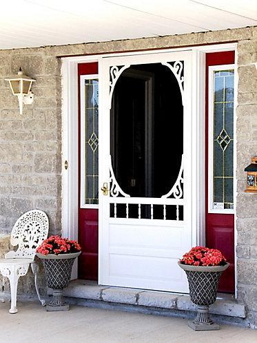 screen home door tutorial dsc wood cottage diy chronicles decor doors red