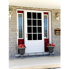 Porte grillagée en bois de DIY/Hampton - 12 Lite 34 po x 80 po