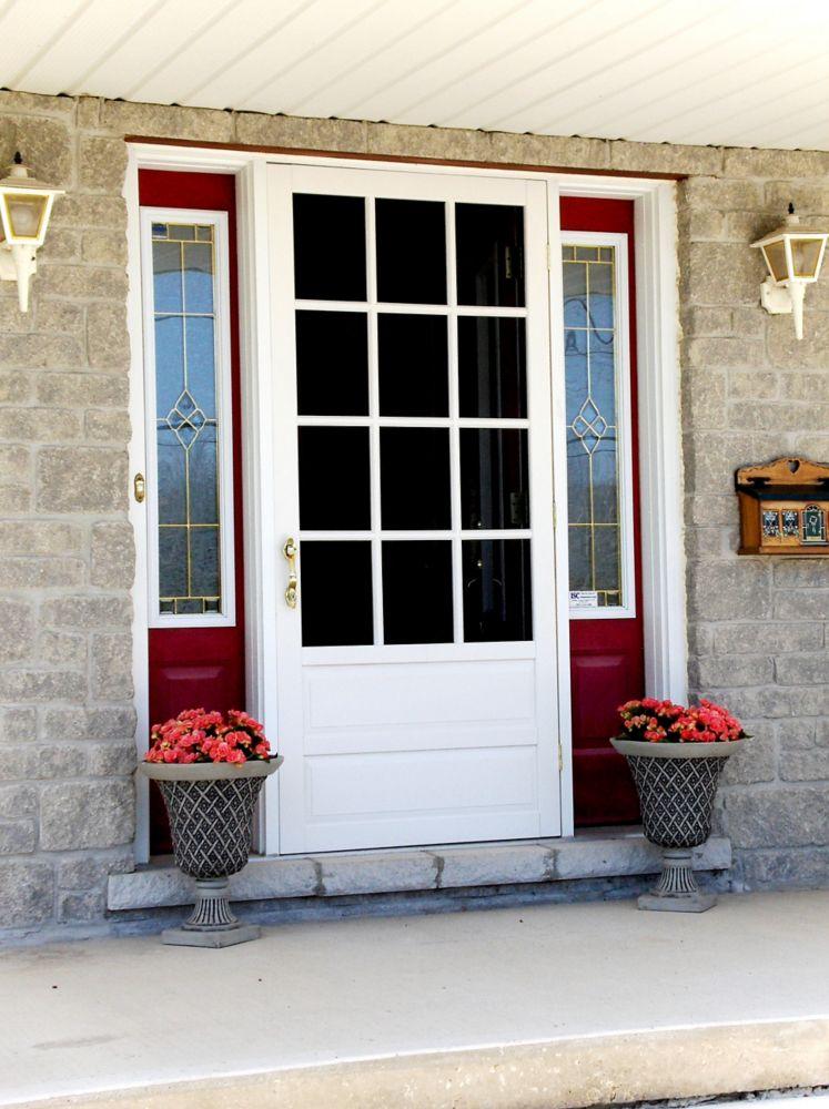 DIY 34-inch x 80-inch Hampton Wood Screen Door