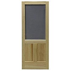 Porte grillagée en bois de DIY/Laurentian 36 po x 80 po