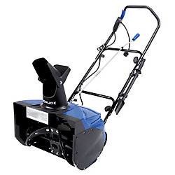 15 amp 18-inch Single-Stage Electric Snowblower with Light