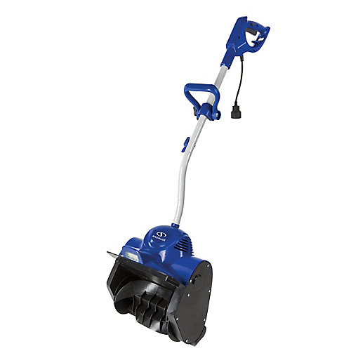 10 Amp Electric Snow Shovel with 11-inch Clearing Width and Light