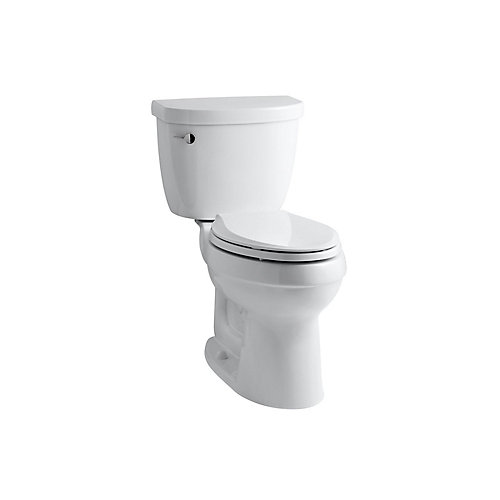 Cimarron Comfort Height the Complete Solution 2-Piece 4.8 LPF Single Flush Elongated Toilet in White