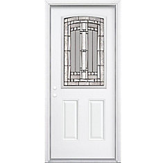 34 prehung entry door. 34-inch x 80-inch 6 9/16-inch antique black 34 prehung entry door