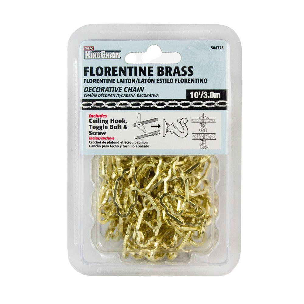 Florentine Brass - 10Ft