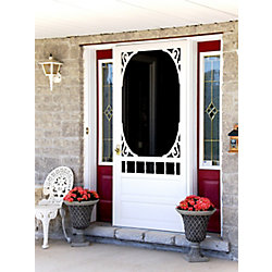 DIY Porte grillagée en bois de DIY/Glenwood 32 po x 80 po
