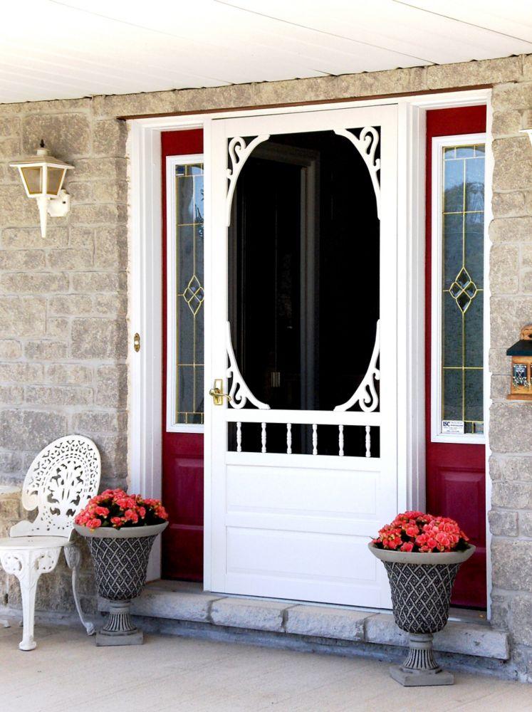 DIY 32-inch x 80-inch Glenwood Wood Screen Door