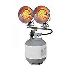 30,000 BTU Propane Double Tank Top Heater