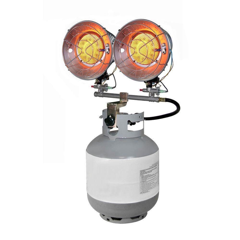 30,000 BTU Propane Double Tank Top Heater